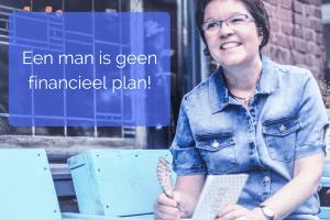 een man is geen financieel plan
