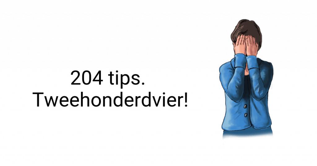 204 tips