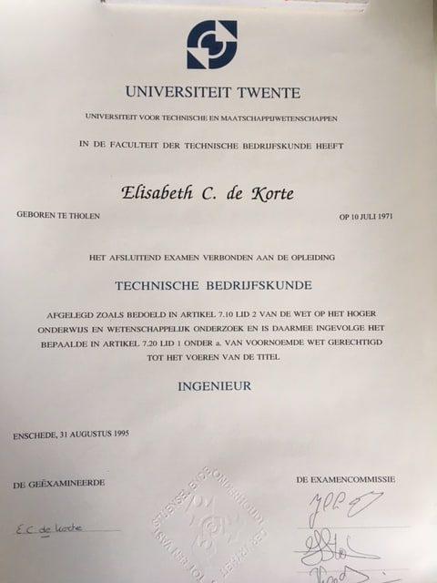 Diploma Technische Bedrijfskunde