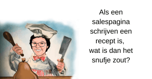 salespagina schrijven