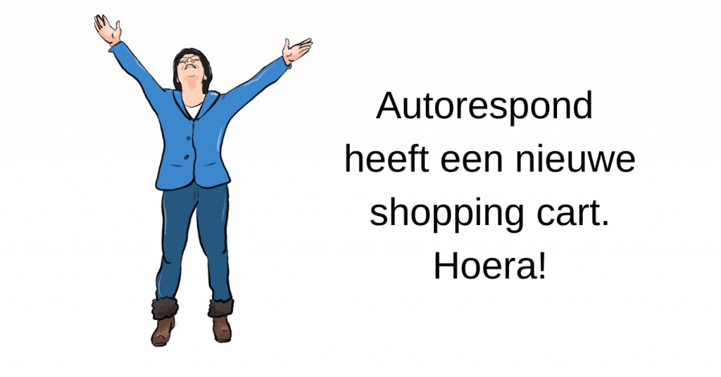 Autorespond nieuwe shopping cart