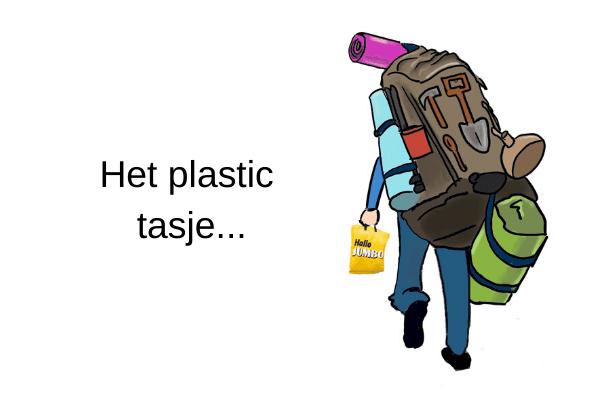 het plastic tasje