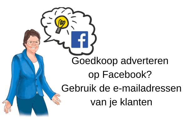 Goedkoop adverteren op Facebook