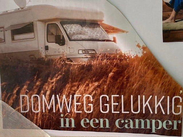 Domweg gelukkig in een camper Uitgelichte afbeelding